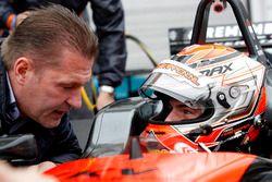 Jos Verstappen et Max Verstappen, Van Amersfoort Racing Dallara F312 - Volkswagen