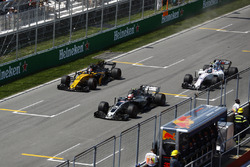 Кевін Магнуссен, Haas F1 Team VF-17, Ніко Хюлькенберг, Renault Sport F1 Team RS17, Ленс Стролл, Williams FW40