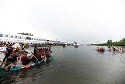 Floßrennen in Montreal: McLaren