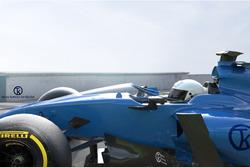 Koncepció az F1 pajzsról