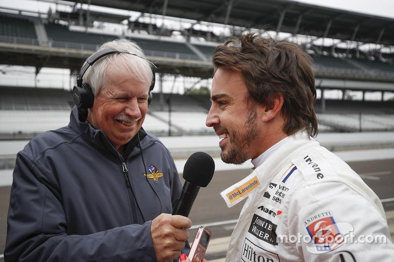 Fernando Alonso, Andretti Autosport Honda, Robin Miller