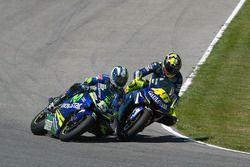 Valentino Rossi, Yamaha and Sete Gibernau, Suzuki