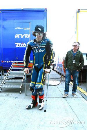 Remy Gardner, Tech 3 Racing and Wayne Gardner