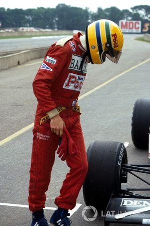 Ayrton Senna, Williams FW08C ile ilk testi sonrası