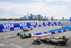Robin Frijns, Amlin Andretti Formula E Team, lidera a Nelson Piquet Jr., NEXTEV TCR Formula E Team, y Stéphane Sarrazin, Techeetah