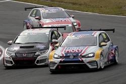 Florian Thoma, Liqui Moly Team Engstler, VW Golf GTI TCR, Steve Kirsch, Honda Team ADAC Sachsen, Hon