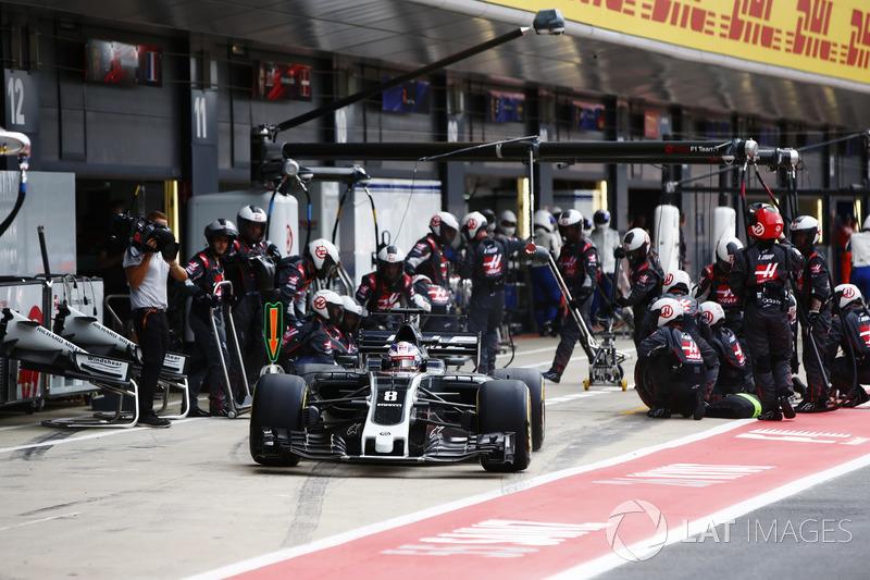 13e Romain Grosjean, Haas F1