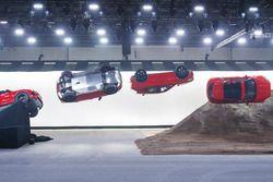 Récord Guinness de salto con tirabuzón del Jaguar E-PACE 2018