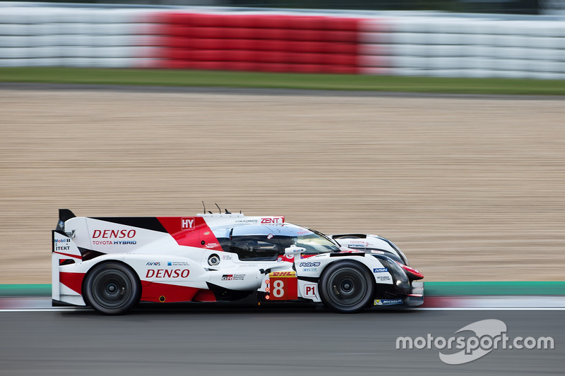 4. LMP1: #8 Toyota Gazoo Racing, Toyota TS050 Hybrid