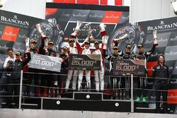 Winners #88 AKKA ASP Mercedes AMG GT3: Felix Serralles, Daniel Juncadella, Tristan Vautier