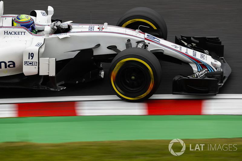 8. Felipe Massa, Williams FW40