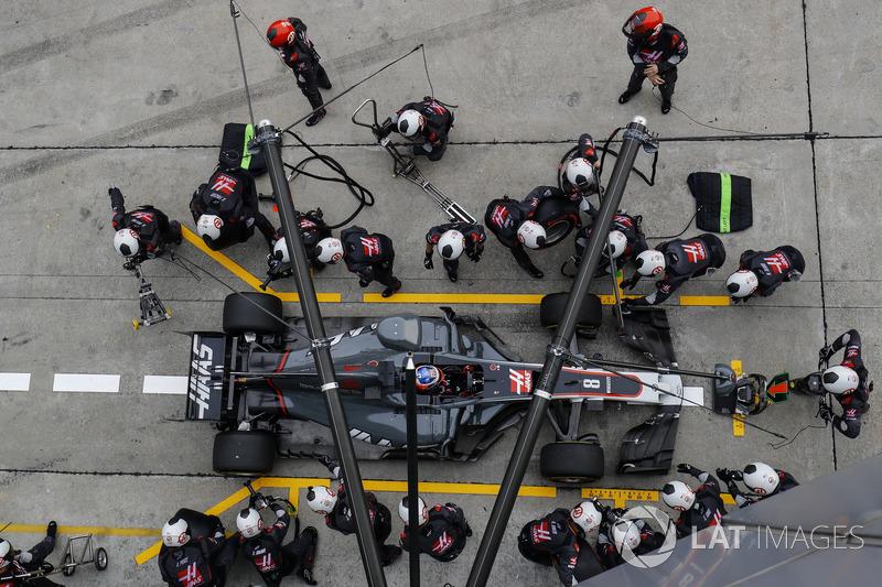 13th : Romain Grosjean (Haas)