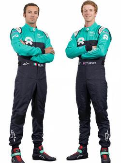 Luca Filippi et Oliver Turvey, NIO Formula E team