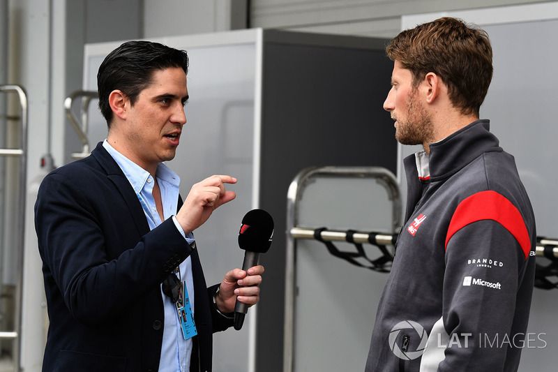Ромен Грожан, Haas F1, маркетолог Гран Прі Мексики Родріго Санчес
