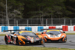 #37 Darrell Lea McLaren 650S GT3: Klark Quinn, Mike Whiddett, #60 DPO McLaren 650S GT3: Nathan Morcom
