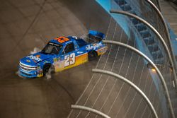 Spencer Gallagher, GMS Racing Chevrolet crash
