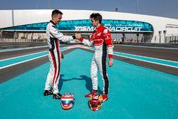 Alexander Albon, ART Grand Prix et Charles Leclerc, ART Grand Prix