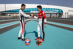 Alexander Albon, ART Grand Prix and Charles Leclerc, ART Grand Prix