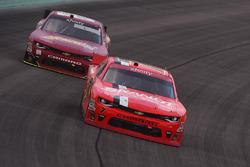Джастин Алгайер, JR Motorsports Chevrolet и Алекс Боуман, JR Motorsports Chevrolet