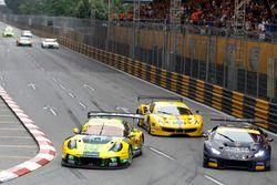 Darryl O'Young, Craft Bamboo Racing, Porsche 911 GT3-R; André Couto (MAC) FFF Racing, Lamborghini Hu