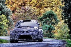Test, Toyota Yaris WRC 2017