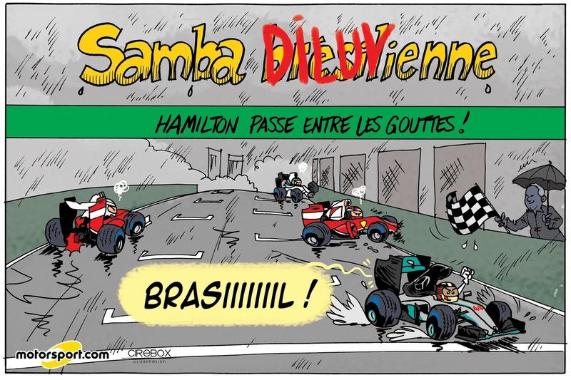 GP du Brésil - Samba diluvienne