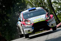 Marco Signor, Patrick Bernardi, Ford Fiesta WRC #5, Sama Racing