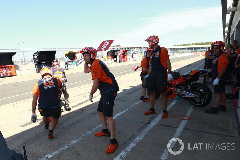 Changement de moto chez KTM