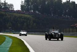 Daniel Ricciardo, Red Bull Racing, lors de la parade des pilotes