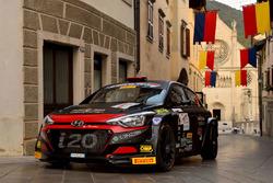 Luca Rossetti, Eleonora Mori, Hyundai i20 R5, Promo Sport Racing
