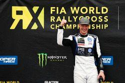Podium: Winner Johan Kristoffersson, PSRX Volkswagen Sweden, VW Polo GTi