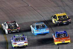 Райан Ньюман, Richard Childress Racing Chevrolet, Даника Патрик, Stewart-Haas Racing Ford и Тревор Бейн, Roush Fenway Racing Ford
