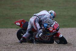 Tetsuta Nagashima, SAG Racing Team après son accident
