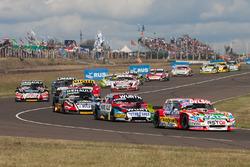 Juan Pablo Gianini, JPG Racing Ford, Juan Martin Trucco, JMT Motorsport Dodge, Emiliano Spataro, Ren