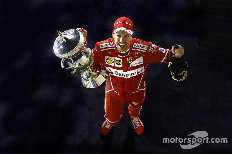 3. GP de Bahrein 2017: Sebastian Vettel (1º)