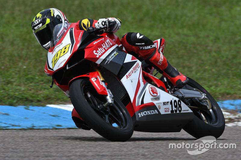 Awhin Sanjaya, Asia Production 250cc