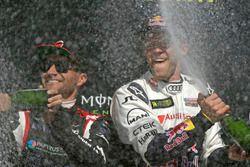Le vainqueur Mattias Ekström, EKS, Audi S1 EKS RX Quattro, Timo Scheider, MJP Racing Team Austria, Ford Fiesta ST