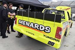 Cody Coughlin, ThorSport Racing Toyota, Matt Crafton, ThorSport Racing Toyota