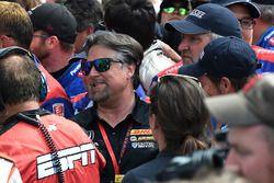 Winning owner Michael Andretti, Andretti Autosport