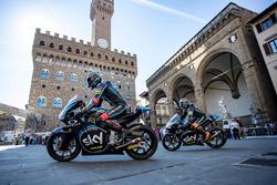 Andrea Migno, SKY Racing Team VR46 e Francesco Bagnaia, SKY Racing Team VR46