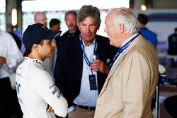 Felipe Massa, Williams con invitados en el aniversario 40 del equipo