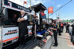 Roger Penske, Helio Castroneves, Team Penske Chevrolet
