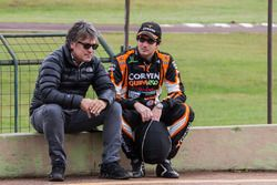 Juan Marcos Angelini, UR Racing Dodge and ACTC Track Director Roberto Argento