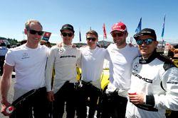 #47 Mercedes-AMG Team HTP Motorsport, Mercedes-AMG GT3: Sebastian Asch, Dominik Baumann, Stefan Mücke, Christian Hohenadel, Edward Sandström