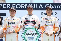 全日本F3岡山第9戦の表彰台
