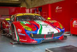 #71 AF Corse Ferrari 488 GTE: Давіде Рігон, Сем Берд, Мігель Моліна
