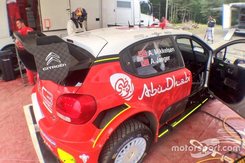 Andreas Mikkelsen, Citroen Racing