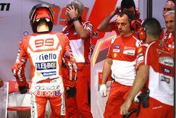 Jorge Lorenzo, Ducati Team and Luigi Dall'Igna, Ducati Team