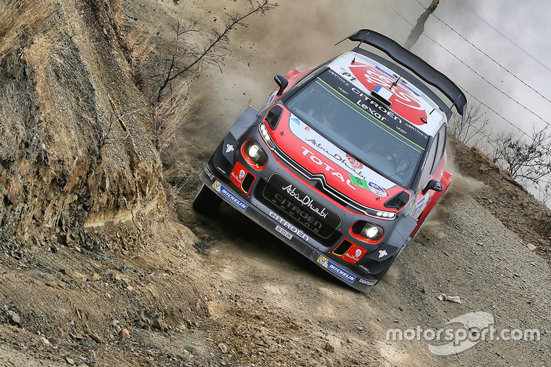 Стефан Лефевр и Габен Моро, Citroën C3 WRC