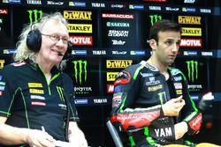 Johann Zarco, Monster Yamaha Tech 3 with a team member